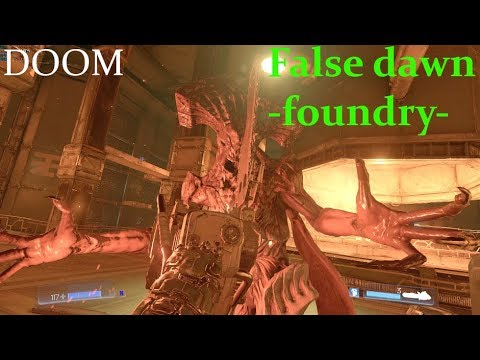 Doom SnapMap - False dawn -foundry-