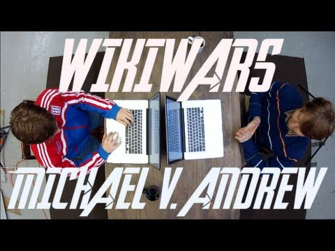 WikiWars - Andrew v. Michael in GREGORY GRUDGE MATCH!