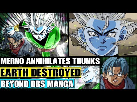 Download Beyond Dragon Ball Super: Merno Destroys Future Trunks! The Destruction Of Earth And A NEW Target