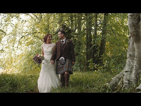 Claire & Stuart | Wedding Film | Logie Country House | Aberdeenshire | Scotland