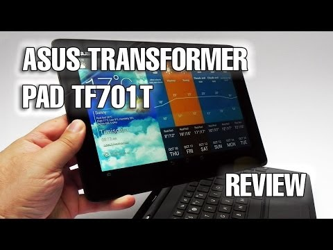 ASUS Transformer Pad TF701T Review (Tegra 4 Android Tablet) - Tablet-News.com