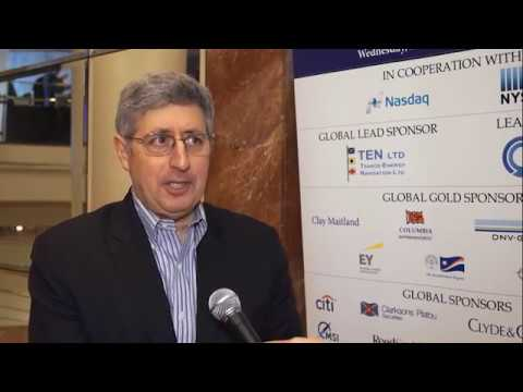 2017 8th Annual Greek Shipping Forum Interview-Evan Cohen
