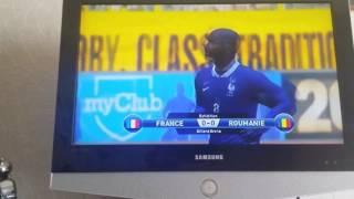 3 ème match de préparation pour l'euro FRANCE-ROUMANIE