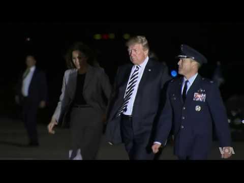 President Trump Greets Americans Held by North Korea