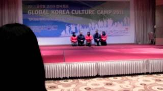group 6 performance on indonesian song in GKCC 2011