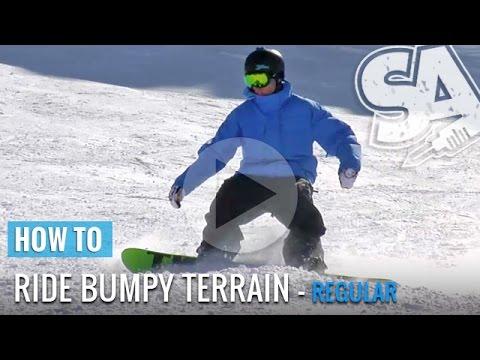 Veja o video – How To Ride Moguls & Bumpy Terrain On A Snowboard