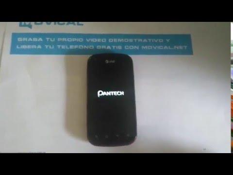 Liberar Pantech Burst P9070 de AT&T, SIM unlock code
