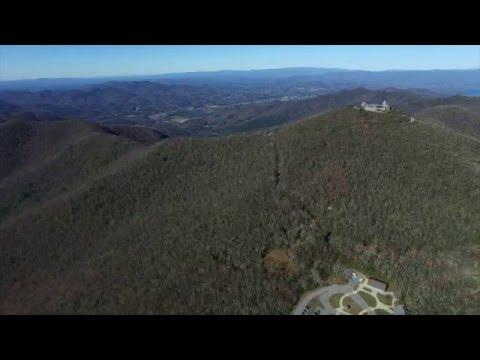Brasstown Bald Mountain Drone Dec 5 2015