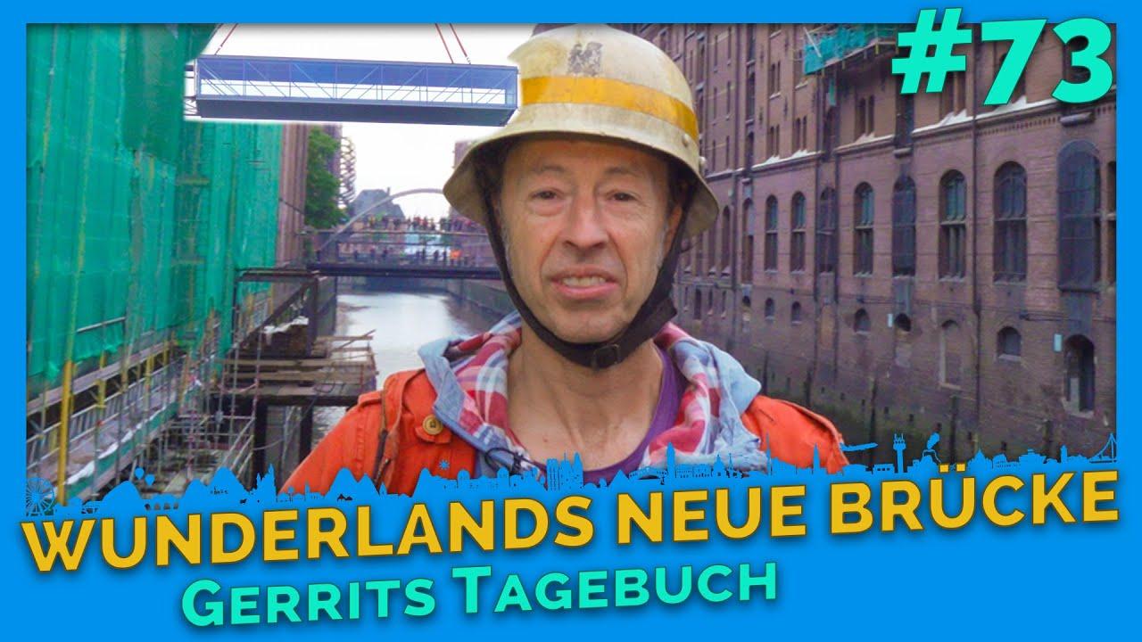 Brückenschlag: Gerrit hautnah beim historischen Moment - Gerrits Tagebuch #73