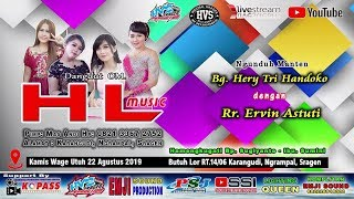 Live Streaming Dangdut OM HL MUSIC // EMJI AUDIO ( DEWA TECH ) // HVS SRAGEN CREW 2 MALAM