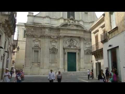"""PUGLIA - LECCE la """"Firenze del Sud""""- HD"""