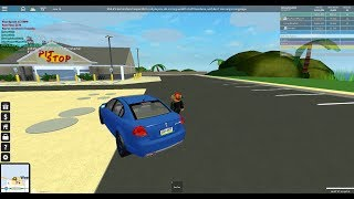 Roblox Ultimate Driving: Driving The New Free Pontiac G8!