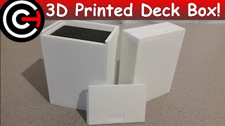 3D Printed Trading Card Deck Box
