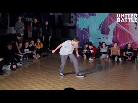United Battle February 2018 - Hip-Hop Solo, Professionals