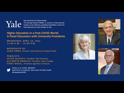 Higher Education in a Post-COVID World: A Panel Discussion with University Presidents
