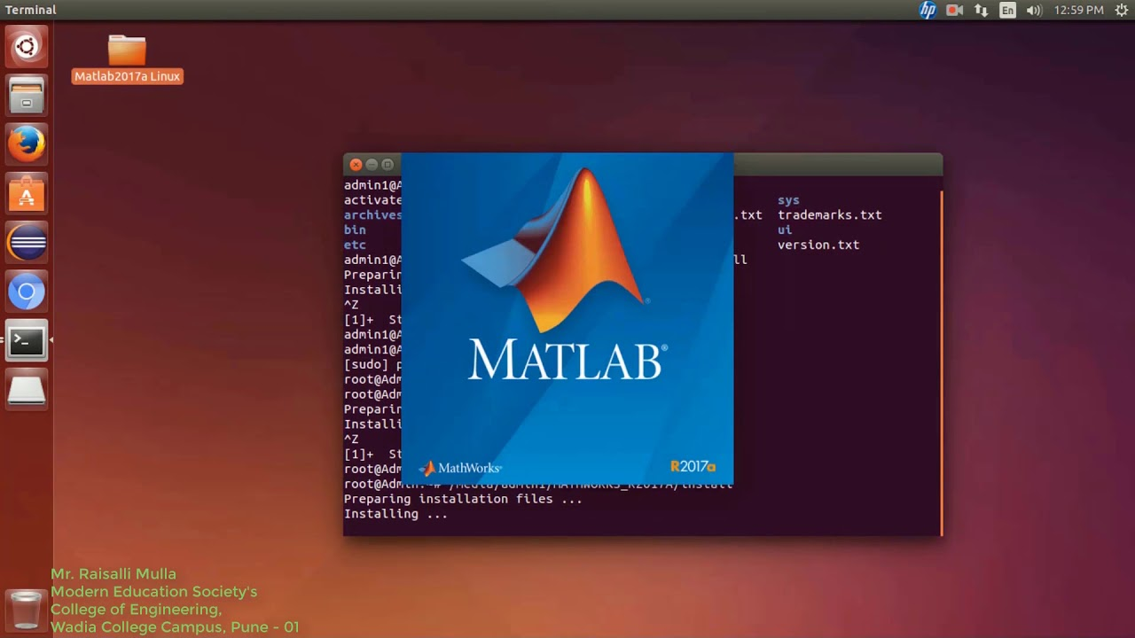 How to install matlab 2017b on ubuntu 16. 04 | xunyun liu phd(melb).