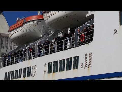 Armada doplovila u Split