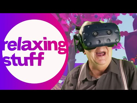 A Grandad's Dream Place Comes True In VR | Relaxing Stuff
