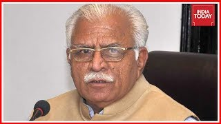 Haryana CM, Manohar Lal Khattar Evades Questions On Ballabhgarh Lynching Case