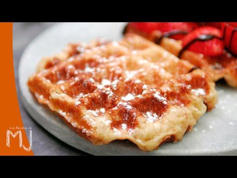 GOFRES DE LIEJA | Waffles