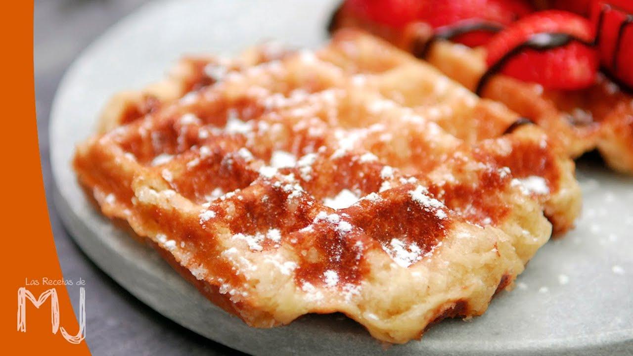 Gofres De Lieja Waffles