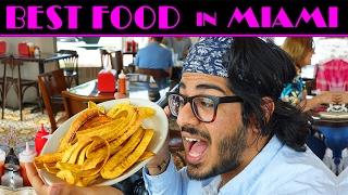 TASTING MIAMI FOOD- Trying Cuban Food, Trying Haitian Food