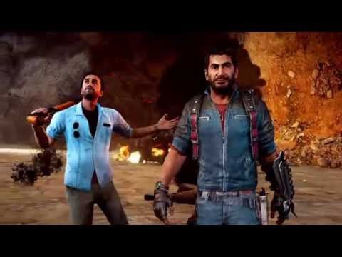 Just cause 3: Opening sequence - with Firestarter.