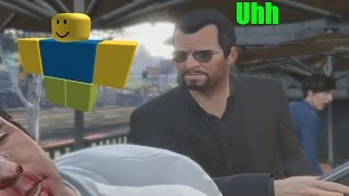 Every Gta V story punch with the roblox death sound