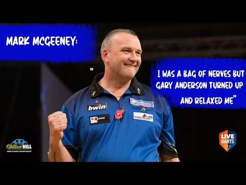 """Mark McGeeney: """"I was a bag of nerves but Gary Anderson turned up and relaxed me"""""""