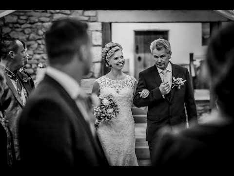 Cheshire Wedding Photography by PK Photography at theTithe Barn, Browsholme