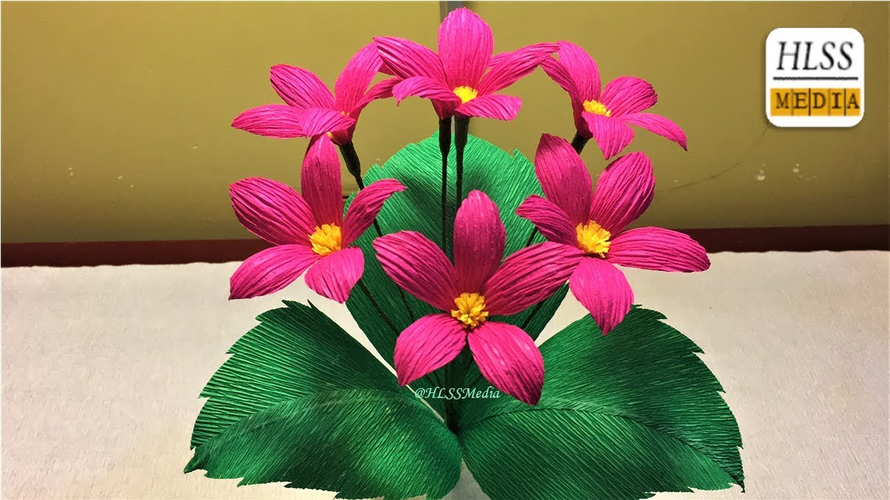How to make paper flowers easy for kits diy origami paper flower how to make paper flowers easy for kits diy origami paper flower making tutorials mightylinksfo