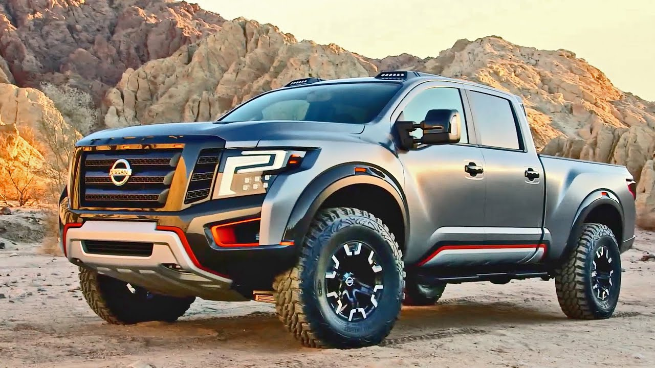 Lifted Nissan Titan >> Nissan TITAN Warrior Concept - Interior and Exterior Walkaround - YouTube