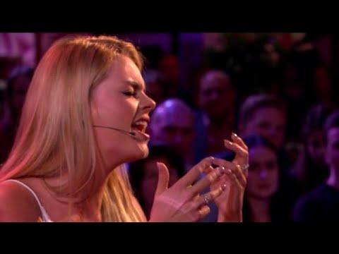 Davina Michelle ontroert met 'Jealous' van Labrint - RTL LATE NIGHT