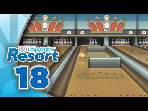 Wii Sports Resort: Part 18 | Bowling - Spin Control (4-Player)