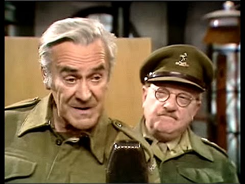 Dad's Army  Broadcast to the Empire   ...' lavender blue... dilly dilly'...