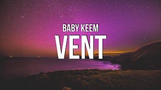 Baby Keem - vent (Lyrics)