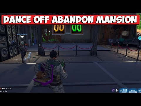 """Season 7 """"Compete In A Dance Off At An Abandoned Mansion"""" Challenge Guide - Fortnite Battle Royale"""