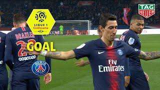 Goal Angel DI MARIA (45' +1) / Paris Saint-Germain-Montpellier Hérault SC (5-1) / 2018-19