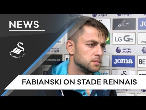 Swans TV - Fabianski on Stade Rennais