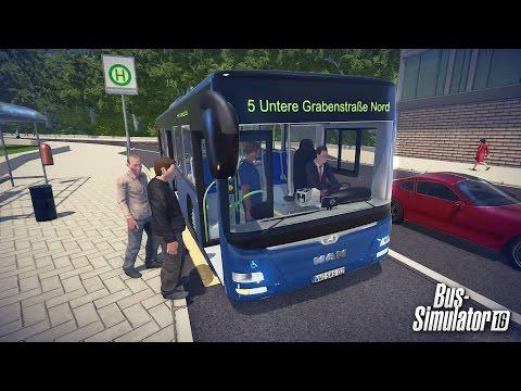 Водила - ч1 Bus Simulator 16