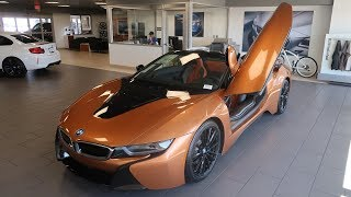 Say Hello To The FIRST BMW I8 ROADSTER IN THE UNITED STATES!!! In Depth I8 Roadster Review!