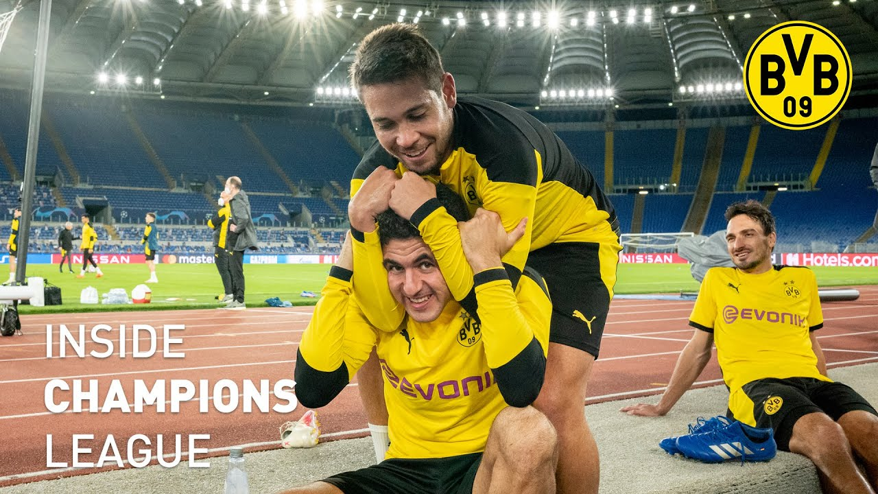 INSIDE Champions League Tag 1 |Ankunft in Rom | Lazio - BVB