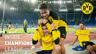 INSIDE Champions League Tag 1 | Ankunft in Rom | Lazio - BVB