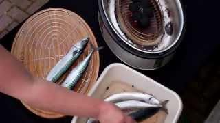 Makreel Roken op de Cobb Supreme