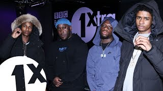 Bandokay, Double Lz & Dezzie (OFB) - Voice Of The Streets Freestyle W/ Kenny Allstar on 1Xtra