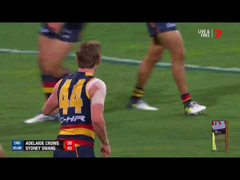 Highlights: Adelaide v Sydney Swans