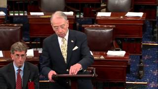 Grassley Asks Why Democrats are Complaining About Judicial Confirmations