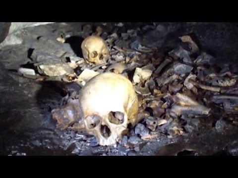 Пещера с древними захоронениями в КБР