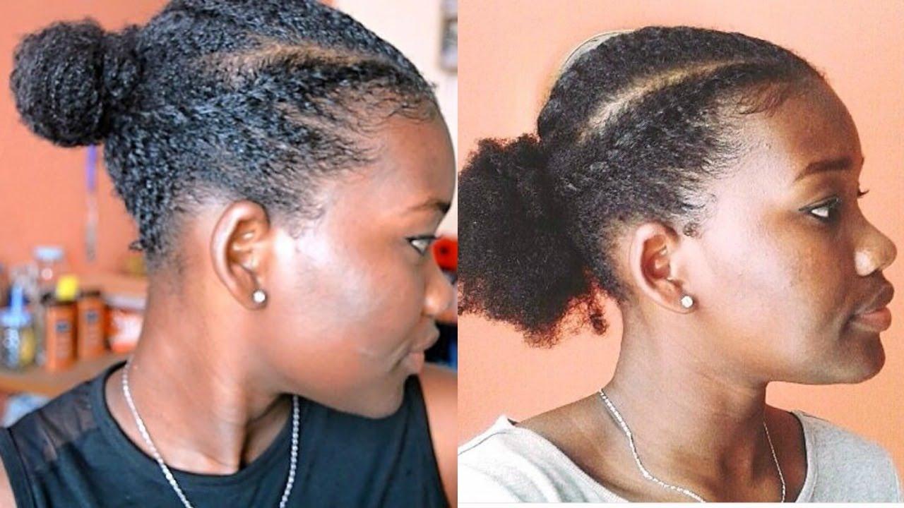 Cheveux Crepus 1 Semaine 1 Coiffure Protectrice Vanilles Collees