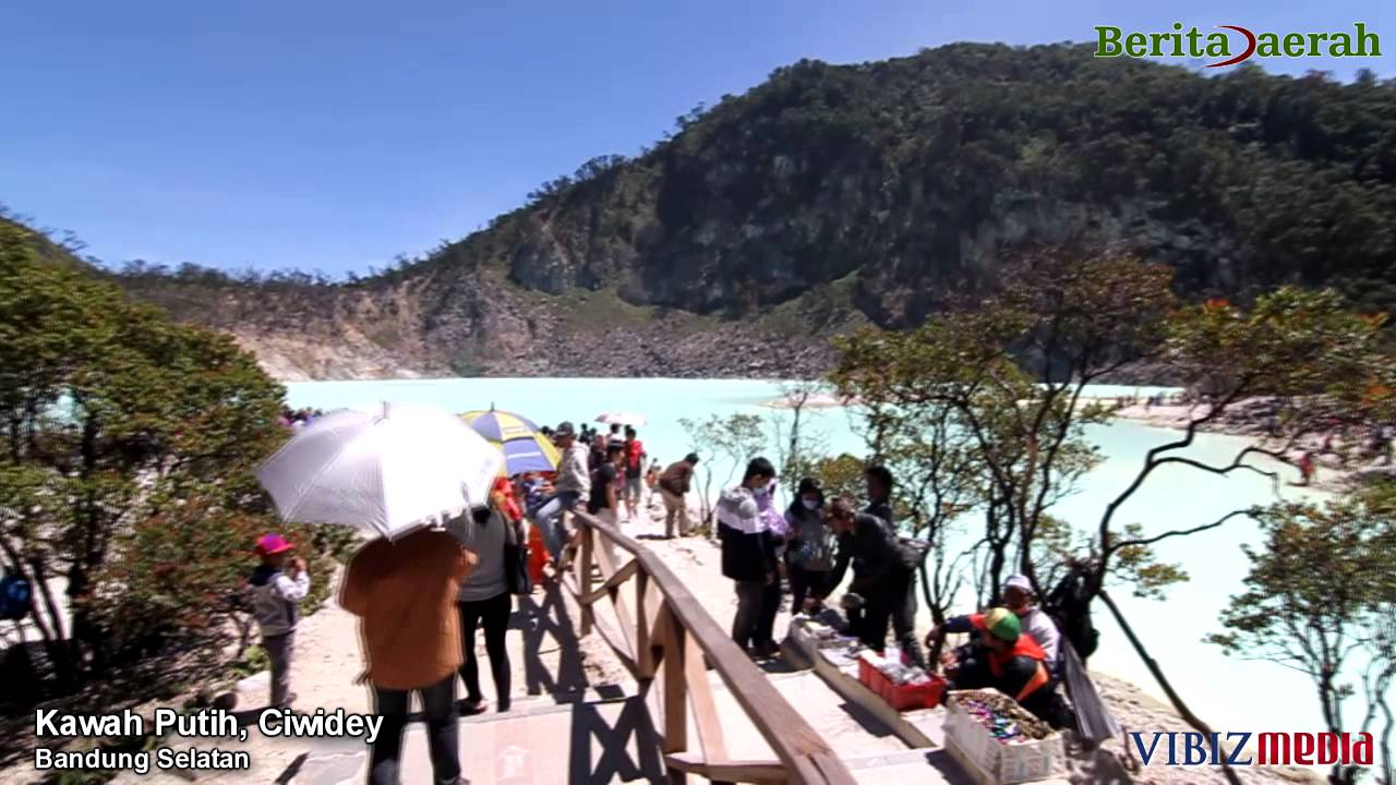 Wisata Kawah Putih Ciwidey Bandung Jawa Barat